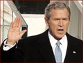 George W. Bush - inauguration photo!