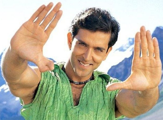 Hrithik Roshan is not afraid to show his unusual double thumb.