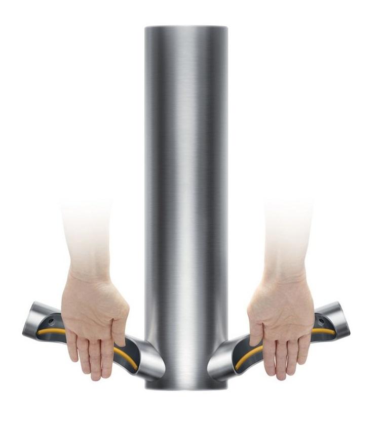 dyson airblade 9kj hand dryer hu03