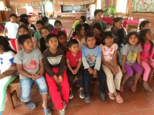 Bible lessons Hands of Love Bolivia