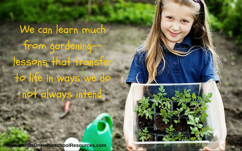 Lessons from the Garden