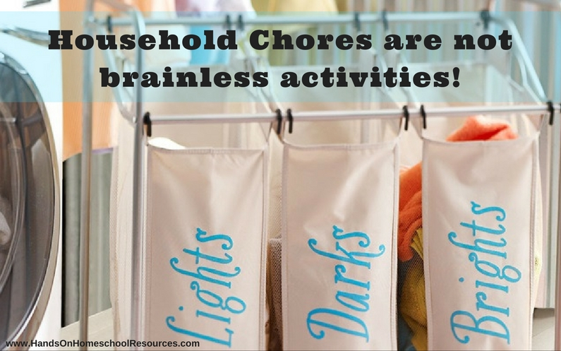 Household Chores Build Brain-Power!