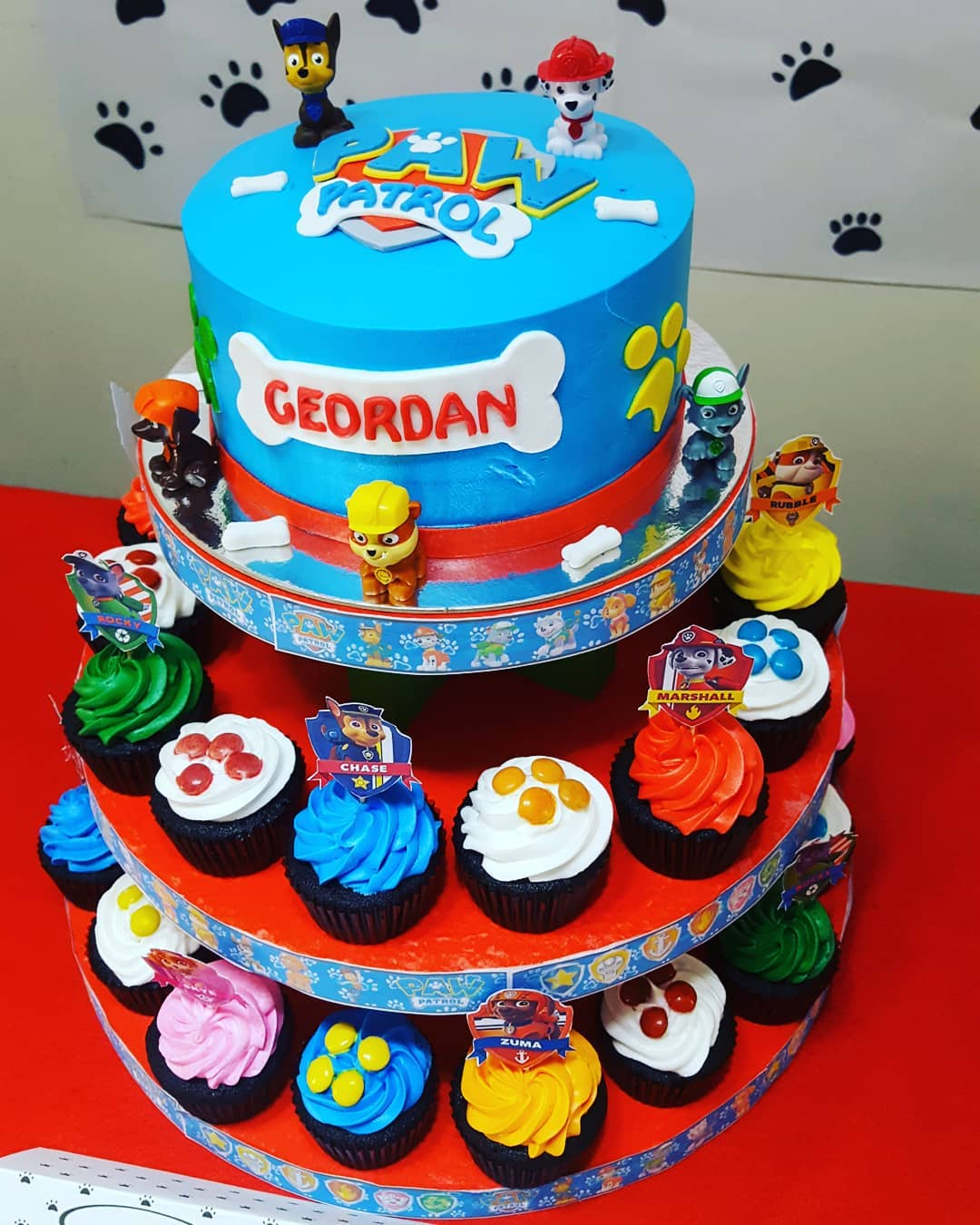 A Simple Paw Patrol Themed Birthday Celebration Hands On Parent While Earning