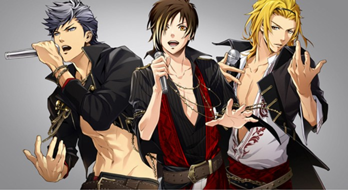 XIP (Satoshi's character, Kento, is the first one on the left)