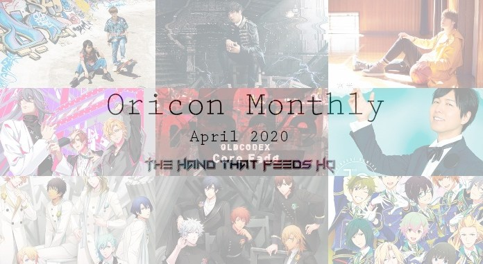 oricon monthly April 2020