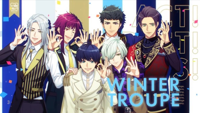 Winter Troupe A3!