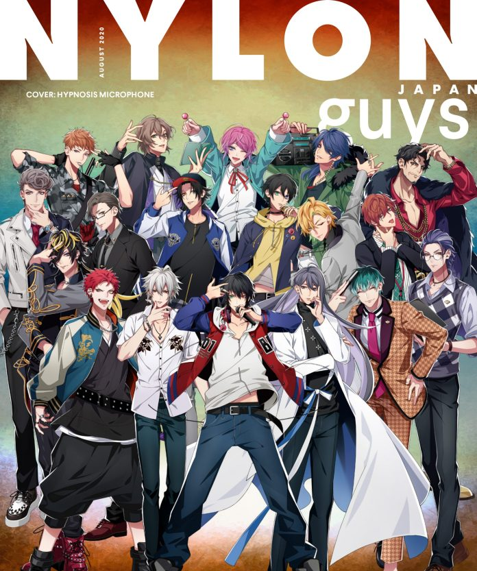 Hypnosis Mic NYLON Guys Japan