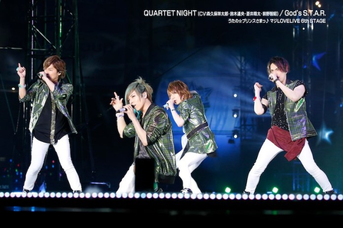 QUARTET NIGHT at Uta no Prince-Sama Maji LOVE LIVE 6th STAGE