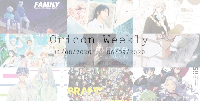 Oricon Weekly 5th week Aug 2020