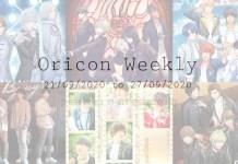 oricon weekly 3rd week sep 2020