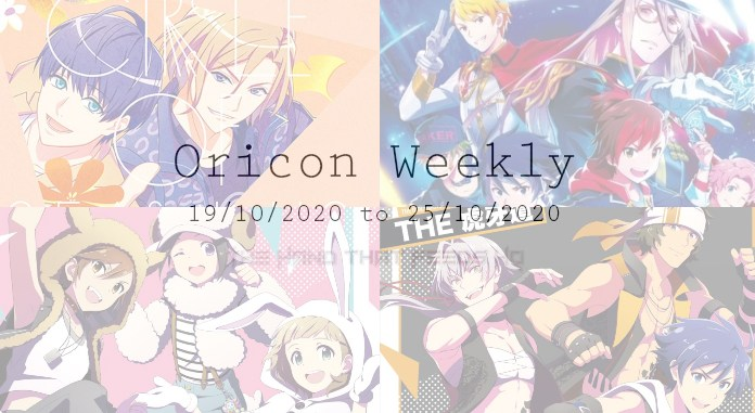 oricon weekly 3rd week october 2020
