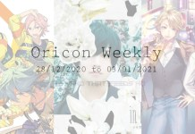 oricon weekly 4th week dec 2020