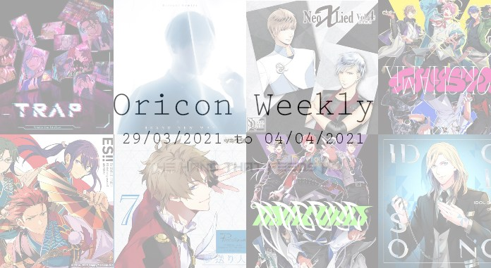oricon weekly 5th week march 2021