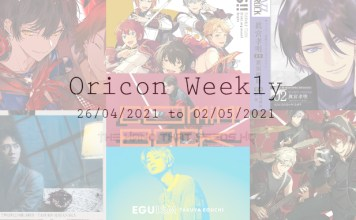 oricon weekly 4th week April 2021
