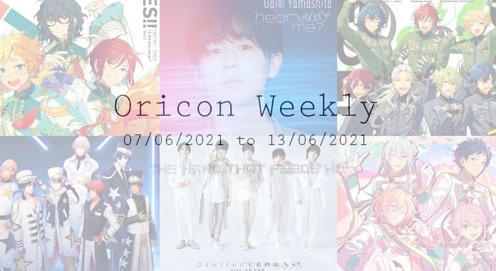oricon weekly 1st week june 2021