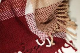Wolldecke aus reiner Schurwolle 1,30 x2,00 m
