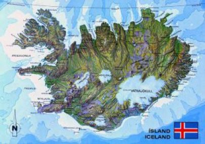 a-map-of-iceland-photo