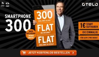 otelo Smartphone-Tarif 300 für nur 8,99 Euro monatlich