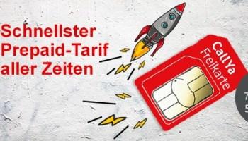 Vodafone CallYa Freikarte - Der schnellste Prepaid-Handytarif aller Zeiten ist da