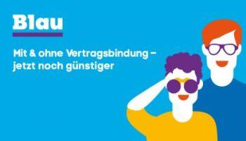 Blau Mobilfunk - Attraktive Aktionsangebote vom 01.03.2016 bis 30.04.2016
