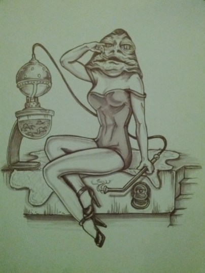 {Jabba the pinup} day 46