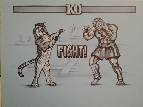 tiger uppercut