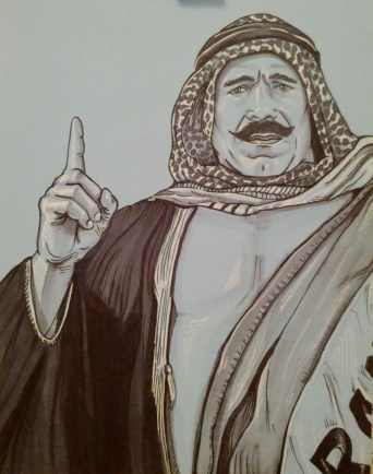 {the iron sheik} day 74