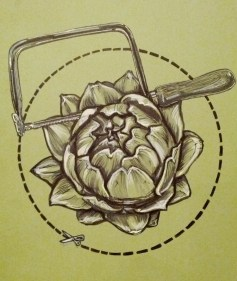 {artichoke coping saw} day 84
