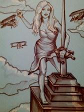 {giant woman, mini kong} day 93