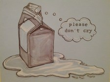 {please don't cry} day 99