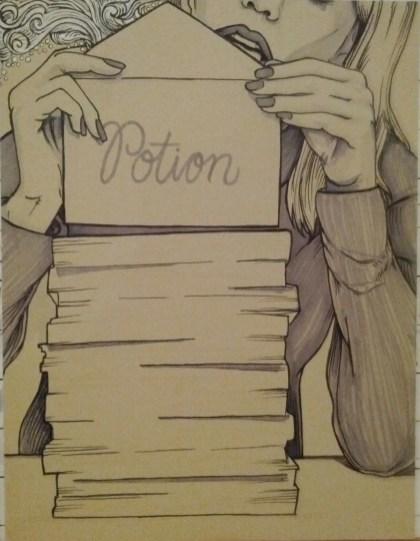 {folding potion} day 100