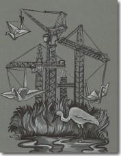 {cranes} day 187