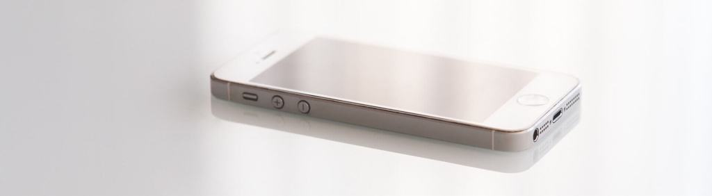 iPhone 5 vor dem Akku wechsel