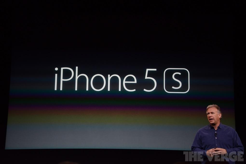 iPhone 5s vorgestellt / Quelle: theverge.com