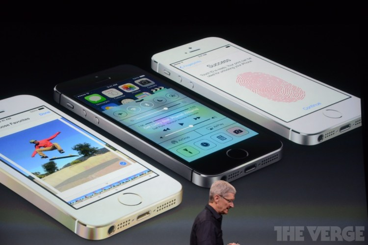 iPhone 5s vorgestellt Apple Keynote