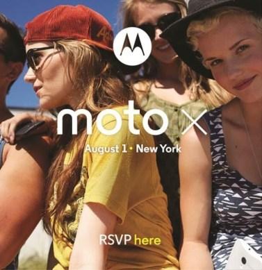 Google Moto X Annoucement Date 08/01/2013