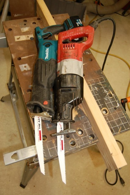 Reciprocating Saw Test