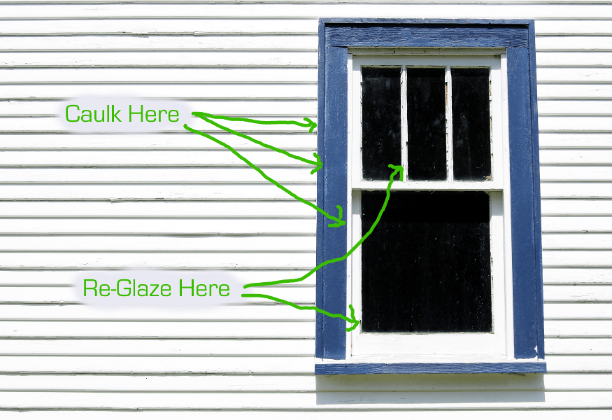 ge to door how trim diycenter paintable caulking interior installwindow install projects sills window caulk