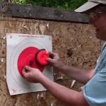 nail gun target