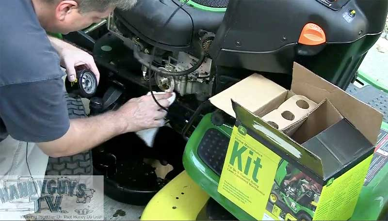 Deere Oil Change