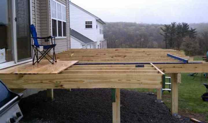 Freestanding Deck