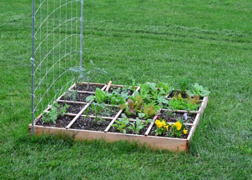 square foot garden gas can safety storage