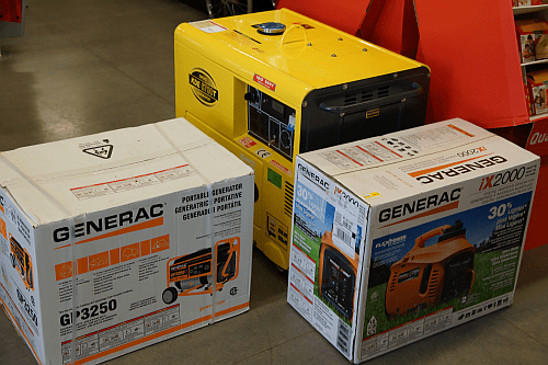 Generators at True Value and how does a generator work