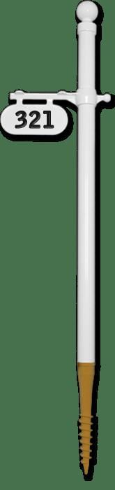 spindigger mailbox post