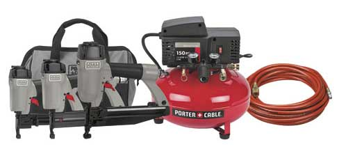 Nailer Compressor Combo Kit