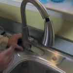 Pfister faucet install