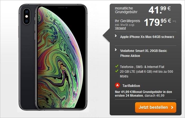 Iphone Xs Max Vodafone Smart Xl Fur Eff 12 99 Mtl