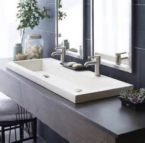 Trough Sinks for Bathrooms Porcelain