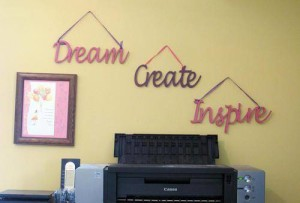 Decorative Wall Words