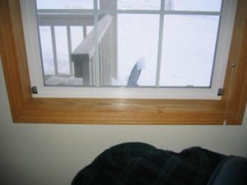 Plexiglass Interior Storm Windows